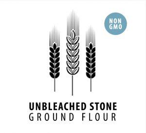 Unbleached non GMO Flour
